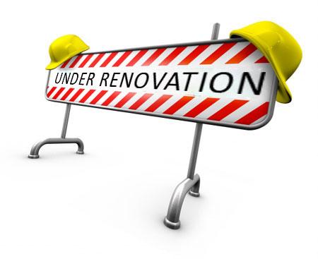 It's Renovation Time!!!