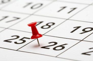 Important Dates!!!
